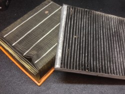 old filter volkwagen air filter