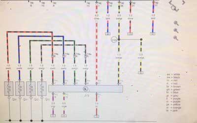 wiring repairs audi seat skoda crawley