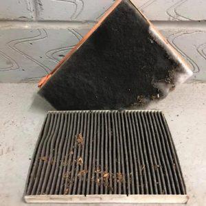 old filter volkwagen air filter